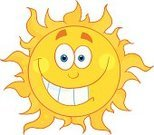 Sun,Smiling,Cartoon,Summer,Burning,Characters,Sunbeam,Clip Art,Cheerful,Vector,Ilustration,Heat - Temperature,Shiny