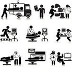 Symbol,Doctor,Healthcare And Medicine,Hospital,Medical Exam,Icon Set,Patient,X-ray,Senior Adult,People,Care,X-ray Equipment,Nurse,Office Interior,Anesthetic,Blood Pressure Gauge,Ambulance,Breast,Treadmill,Stick Figure,Support,Cardiologist,Emergency Room,Black And White,Vector,Concepts,Heart Shape,Pulse Trace,Waiting Room,Ilustration,Simplicity,Diagram,Gland Lobule,Information Symbol,Design Element,Critical Care,Diagnostic Imaging,Illustrations And Vector Art,Concepts And Ideas,Vector Icons,Health Care,Industry