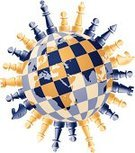 Chess,Globe - Man Made Object,Chess Board,Planet - Space,World Map,Sphere,Rivalry,Chess Knight,Chess Pawn,Chess King,Leisure Games,Africa,Chess Rook,Sport,Chess Bishop,Sports And Fitness,Checkmate,Concepts And Ideas,Asia,Chess Queen,Europe