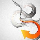 Direction,Business,Arrow Symbol,Three-dimensional Shape,Gray,Backgrounds,Computer Graphic,Curve,Abstract,Vector,Futuristic,Design,Orange Color,Style,Business,Illustrations And Vector Art,Business Abstract,Vector Backgrounds,Color Gradient,Business Backgrounds,Modern,Wave Pattern,Sparse,Copy Space,Ilustration,Shape,Empty