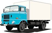 Truck,Semi-Truck,Van - Vehicle,Vector,Blue,Delivering,Backgrounds,Front View,Delivery Van,Transportation,White,Cargo Container,Large,Isolated,Single Object,Land Vehicle,Shadow,Mode of Transport,Illustrations And Vector Art,Isolated Objects,Image,Isolated On White,Computer Graphic,Clipping Path,Transportation,Freight Transportation,Ilustration,Wheel,Color Image,Horizontal