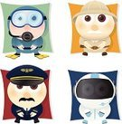 Explorer,Pilot,Diving,Cartoon,Safari,Guide,Human Eye,Characters,Symbol,People,Computer Icon,Icon Set,Astronaut,Occupation,Cute,Set,Square,Vector,Job - Religious Figure,Interface Icons,Uniform,Ilustration,Collection,Design Element,Costume,Front View,Professional Occupation,Series