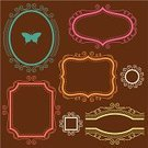 Frame,Picture Frame,Frame,Ellipse,Ornate,Circle,Modern,Banner,Butterfly - Insect,Label,Swirl,Shape,Placard,Cute,Scroll Shape,Vector,Sign,Rectangle,Decoration,Elegance,Design Element,Ilustration,Vector Backgrounds,Illustrations And Vector Art,Vector Ornaments