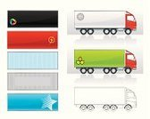 Truck,Cargo Container,Relocation,Shipping,Semi-Truck,Freight Transportation,Line Art,Delivering,Business,Land Vehicle,Transportation,Wheel,Industry,Retail,Red,Messenger,Transportation,Industry,Mode of Transport,White,Illustrations And Vector Art
