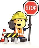 Safety,Construction Industry,Manual Worker,Occupation,Construction Site,Working,Cartoon,Stop,People,Symbol,Work Helmet,Sign,Men,Construction Worker,Traffic,Waistcoat,Ski Vest,Road Construction,One Person,Hat,Cheerful,Stop Gesture,Boundary,Characters,Stop Sign,Road Sign,Happiness,Hardhat,Cute,Warning Symbol,Warning Sign,Construction Barrier,Traffic Cone,Ilustration,Reflector,Reflective Clothing,Clothing,Reflection,Job - Religious Figure,Road Warning Sign,Vector,Protective Workwear,Isolated,Chevron,Hand Sign,Road Worker,Directing,Red,Isolated On White