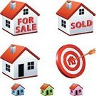 House,Home Interior,Symbol,Residential Structure,Three-dimensional Shape,Sold,Computer Icon,Target,Sign,Real Estate,Selling,Built Structure,For Sale,Bull's-Eye,Success,Computer Graphic,Construction Industry,Vector,Clip Art,Business,Building Exterior,Design,Ilustration,Chimney,Green Color,Set,Red,Perfection,Window,Midsection,Archery,web icon,Target Shooting,Shooting,Concentric,Internet Icon,Architecture And Buildings,Illustrations And Vector Art,Aiming
