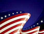 American Flag,Flag,Backgrounds,Patriotism,USA,template,Fourth of July,Vector Backgrounds,Holiday Backgrounds,Holidays And Celebrations,Illustrations And Vector Art,Flowing