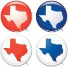 Texas,Map,state,Computer Icon,Outline,Election,Brooch,Badge,Shiny,Illustrations And Vector Art,Vector Icons,Blue,Red,Ilustration,Political Rally,Vector