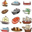 Nautical Vessel,Cartoon,Sailing Ship,Passenger Ship,Industrial Ship,Shipping,Inflatable Raft,Lifeboat,Symbol,Canoe,Transportation,Brigantine,Sailboat,Sea,Vector,Cute,Sailing,Ilustration,Cruise Ship,Humor,Speedboat,Traffic,Doodle,Galleon,Anchor,Manga Style,Drawing - Activity,Dragon,Clip Art,Color Image,Water,Warship,Float,Art,Characters,Single Object,Collection,Travel,Boat Captain,Style,Set,Isolated,Illustrations And Vector Art,Transportation,Design,Group of Objects,Vector Icons,Vector Cartoons,Tourist,Vacations,Tourism