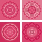 Zen-like,Buddhism,Indian Culture,Femininity,Circle,Meditating,Symbol,Vector,Mandala,Pink Color,Shape,Design,Cultures,Floral Pattern,Computer Icon,Decoration,Honeysuckle Pink,Vibrant Color,Blossom,Four Objects,Illustrations And Vector Art,Vector Florals,Geometric Shape,Collection,Multi Colored,Arrangement,Design Element,Vector Ornaments,Vector Icons,Vitality,Petal,Ilustration