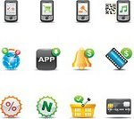 Symbol,Mobile Phone,Computer Icon,Icon Set,Marketing,Sale,Shopping,Application Software,E-commerce,Shopping Cart,Buying,Credit Card,Auction,Retail,Verified,Selling,New,Modern,Checklist,Set,Collection,Interface Icons,Confirmation,Commercial Activity,Percentage Sign,Bell,Vector,Check Mark,Consumerism,Design Element,Mobile Shopping,Design,Pay Music,Shadow,Pay Video,Pay Movie,Download Download,Pay  Global Shopping,Isolated On White,graphic element,App Download