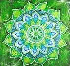 Mandala,Chakra,Abstract,Green Color,anahata,Circle,Multi Colored,Paint,Backgrounds,Blue,Pattern,Geometric Shape,Floral Pattern,Painted Image,Symbol,Colors,Symmetry,Paintings,Vibrant Color,Ilustration,Color Image,Bright,Drawing - Art Product,Design,Ornate
