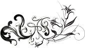 Flower,White,Black Color,Floral Pattern,Decoration,Swirl,Growth,Symbol,Simplicity,Design,Vector,Scroll Shape,Springtime,Ornate,Leaf,Acanthus Plant,Engraved Image,Plant,White Background,Style,Illustrations And Vector Art,Flowers,Nature,Focus On Background,Ilustration,Digitally Generated Image,Vector Ornaments,Elegance,Intricacy,Curled Up,Computer Graphic,No People