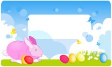 Easter,Butterfly - Insect,Greeting Card,Rabbit - Animal,Easter Bunny,Silhouette,Chamomile Plant,Red,Flower,Baby Rabbit,Chamomile,Eggs,Landscape,Grass,Green Color,Ilustration,Springtime,Back Lit,Summer,Landscaped,Vector,Backgrounds,Easter Egg,Message,Nature,Banner,Livestock,Letter,Plant,Animal,Placard,Blue