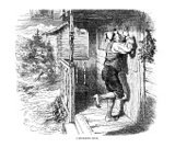 Old-fashioned,Switzerland,Chalet,People,Black And White,Rural Scene,Victorian Style,Outdoors,History,Dress,Adults,Old Costumes,Arts And Entertainment,Swiss Culture,Front Stoop,Mountain,Engraved Image,Porch,Lifestyle,People,Visual Art,Fashion,19th Century Style,Clogs,Antique,Line Art,Men,Knocking