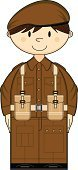 Army,Army Soldier,War,Men,Private,Conflict,One Person,Beret,Clip Art,Smiling,Jacket,Cute,Pocket,Illustrations And Vector Art,Cartoon,Belt,Button,At Attention,Pants,Uniform,Characters,Buckle,Vector,Battle,People,Ilustration,Lapel,Courage,Isolated,Vector Cartoons,UK,Brown Hair,Brown,World War II