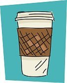 Coffee - Drink,Take Out Food,Cup,Coffee Cup,Sketch,Symbol,Single Object,Foam,Incomplete,Large,Computer Icon,Vector,Illustrations And Vector Art,Food And Drink,Sparse,Ilustration,Scribble