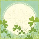 Clover,Backgrounds,Picture Frame,Old-fashioned,Irish Culture,Frame,Distressed,Old,Plant,Grunge,Design Element,Illustrations And Vector Art,Nature,Springtime,Nature Symbols/Metaphors,Nature Backgrounds,Vector Backgrounds,No People,Copy Space,Grass,Square