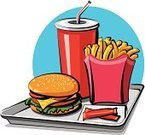 Hamburger,French Fries,Burger,Snack,Food,Soda,Drink,Restaurant,Eating,Tomato,Sandwich,Prepared Potato,Bun,Lunch,Lettuce,Dinner,Bread,Speed,Illustrations And Vector Art,Meat,Junk Food/Fast Food,Cheese,Food And Drink,Vector,Unhealthy Eating,Cola,Ilustration,Drinking Straw