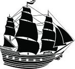Sailing Ship,Nautical Vessel,Shipping,Brigantine,Sailboat,Caravel,Sail,Obsolete,Silhouette,Ilustration,Stencil,Travel,Outline,Yacht,Mast,Sketch,Pattern,Oil Rig,Black And White,Black Color,Symbol,Yachting,Isolated,Cruise Ship,Galley,Vector Cartoons,White,Computer Icon,Design,Water,Image,Painted Image,Activity,Leisure Activity,Isolated-Background Objects,Isolated Objects,Computer Graphic,The Past,Transportation,Illustrations And Vector Art,Sports And Fitness,Shape
