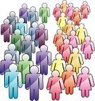 Symbol,Men,Women,People,Silhouette,Crowd,The Human Body,Variation,Large Group Of People,Abstract,Family,Standing,Adult,Ideas,Group Of People,Yellow,Vector,Colors,Concepts,Team,Male,Social Issues,Purple,Community,Orange Color,Couple,Pink Color,Teamwork,Ilustration,Green Color,Friendship,Togetherness,Blue,People,Concepts And Ideas,Illustrations And Vector Art,Red,Vector Backgrounds,Female,Light - Natural Phenomenon