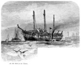 Military Ship,Sailing Ship,Shipping,Passenger Ship,Old,Ilustration,Prison,hulk,Engraved Image,London - England,Punishment,Commercial Dock,Seagull,Harbor,History,Image Created 19th Century,19th Century Style,Drawing - Art Product,Antique,River,Thames River,Floating On Water,Day,Built Structure,Ephemera,Prison Hulk,Transportation,Criminal,Social History,Smoke - Physical Structure,Paddleboat,Outdoors,Crime,England,Image Created 1870-1879,Mast,Old-fashioned,Sketch,Cultures,UK,Black And White,Monochrome,Horizontal,Wave,Man Made Structure,Prison Ship,The Past,British Culture