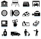 Symbol,Bank,Computer Icon,Currency,ATM,Icon Set,Credit Card Reader,Check - Financial Item,Vaulted Door,Finance,Gold,Thief,Police Force,Garage,Banking,Bank Robber,Black Color,Key,Ingot,Car,Writing,Stealing,Black And White,heist,Crime,Lock,Security Staff,Security,Burglary,Vector,Savings,Safety Deposit Box,Land Vehicle,Ilustration,Gun,Officer,Digitally Generated Image,Dollar,Dollar Sign,Money Bag,Armored Vehicle,Shadow,Criminal Activity,Reflection,Bank Heist,Bank Account,Gunman,Pen,White Background