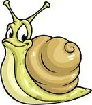 Snail,Escargot,Mascot,Cartoon,Animal,Animal Shell,Vector,Ilustration,Spotted,Crustacean,Cute,Slimy,Happiness,Smiling,Humor,Cheerful,Green Color,Isolated,Eyestalk,One Animal,Fun,Brown