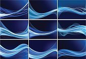 Wave Pattern,Blue,Abstract,Backgrounds,Design,Ornate,Vector Backgrounds,Ilustration,Illustrations And Vector Art