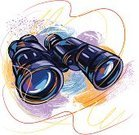 Binoculars,Hand-Held Telescope,Drawing - Art Product,Paintings,Creativity,Vector,Art,Grunge,Sketch,Ilustration,Painted Image,Brush Stroke,Objects/Equipment,Painterly Effect,Illustrations And Vector Art,Vector Backgrounds,hand drawn,Equipment,Composition,Square
