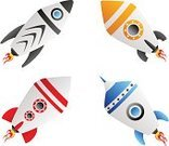 Rocket,Spaceship,UFO,Retro Revival,Space Travel Vehicle,Blue,Cartoon,Futuristic,Red,Vector,Isolated,Orange Color,Black Color,Flying,Vector Cartoons,Science,Ilustration,Technology,Electronics,Air Travel,Travel Locations,Illustrations And Vector Art,Fire - Natural Phenomenon,Sky