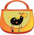 Bag,Cartoon,Patchwork,Horse,Homemade,Animal Themes,Craft,Childhood,Cheerful,full color,personage,Appliqué,Color Image,Animals And Pets,Cute,backstitch,Needlecraft Product,Ilustration,Vector,Colors,Cloven-hoofed,handwork,stylization,Stitch,Composition,Material,Multi Colored,Black Color,Cotton,Textile,Seam