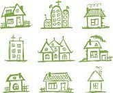 House,Sketch,Neighbor,Village,Street,Tree,Abstract,Backgrounds,Town,Small,Roof,Doodle,Window,Ilustration,Green Color,Illustrations And Vector Art,Architecture And Buildings,Vector,Homes,Ink,Architecture,Vector Cartoons,Nature,Computer Graphic,Shape