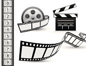 Film,Film Reel,Hollywood - California,Movie,Camera Film,Film Industry,Symbol,Clip Art,Negative,Film Slate,Negative Image,Computer Icon,Design Element,Entertainment,Cinema,Arts And Entertainment