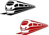 Train,Railroad Track,Symbol,Subway Train,Sign,Speed,Locomotive,Mode of Transport,Cargo Container,Vector,Motion,Transportation,Tunnel,Traffic,Modern,Station,Passenger,People,Mascot,Engine,Isolated Objects,Technology,Street,Insignia,Transportation,Variation,Machinery,Business,Illustrations And Vector Art,Outdoors,Iron - Metal,Travel,Journey,Land Vehicle