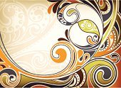 Wave,Abstract,Waving,Design,Backgrounds,Vector,Shape,Curve,Flowing,Swirl,Scroll Shape,Illustrations And Vector Art,Vector Backgrounds,Curled Up,Ilustration,Sandy Brown