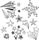 Doodle,Star Shape,Sketch,Magic,Exploding,Pattern,Single Line,Striped,In A Row,Symbol,Curve,Fun,Flash,Ilustration,Icon Set,Bling Bling,Black And White,Shiny,Vector,Line Art,Ornate,Computer Graphic,Outline,Decoration,Illuminated,White Background