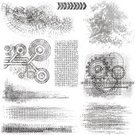 Gear,Dirty,Pattern,Textured,Textured Effect,Grunge,Design Element,Vector,Abstract,Etching,Distressed,Line Art,Scratched,Cross Hatching,Black And White,Sketch,Ilustration,Ink,Stained,Pencil Drawing,Weathered,Rough,Damaged,Messy,dirty texture,Illustrations And Vector Art,grunged,Isolated