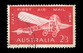 Postage Stamp,Airplane,Old,Australia,Old-fashioned,Air Vehicle,Postmark,Paper,Air,Air Mail,Mail,Ilustration,Typescript,History,Service,Art,Textured,1940-1980 Retro-Styled Imagery,Mode of Transport,Sketch,Flying,Wing,Arts Backgrounds,Pioneer,Stained,Antique,Single Object,Run-Down,monoplane,Propeller,1964,Transportation,Arts And Entertainment,Weathered,Close-up,Design,Arts Abstract