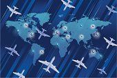 Airplane,Map,Airplane Ticket,Flying,World Map,Travel,Commercial Airplane,Business Travel,Thoroughfare,Travel Destinations,USA,Journey,Vacations,Transportation,Traffic,Africa,Air,Asia,Direction,Europe,Air Travel,Planet - Space,Exploration,Blue,Transportation,Travel Locations,Air Vehicle,The Americas,Mode of Transport,Australia