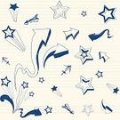 Child,Doodle,Teenager,Arrow Symbol,Drawing - Art Product,Star Shape,Backgrounds,Sketch,Pattern,Pen,Adolescence,Firework Display,Paper,Note Pad,Retro Revival,Design,Pencil Drawing,Ballpoint Pen,Seamless,1940-1980 Retro-Styled Imagery,Sketch Pad,Funky,Blue,Vector,Ink,White,Pyrotechnics,Fun,Crown,Vector Backgrounds,Illustrations And Vector Art