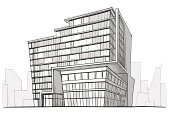 Built Structure,Sketch,Building Exterior,Construction Industry,Drawing - Activity,Office Building,City,Urban Scene,House,Drawing - Art Product,Architecture,Organization,Pencil Drawing,Ilustration,Creativity,Modern,White,Black Color,Glass - Material,Residential Structure,Outdoors,Painting,Design,Concepts,Image,Residential District,City Life,Ideas,Urban Skyline,Roof,Painted Image,Paintings,Illustrations And Vector Art,Horizon,Imagination,District,Window,Lifestyles,Town,Shape,Industry,Architecture And Buildings,Pattern,Computer Graphic,Construction,Inspiration,Design Element
