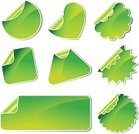Green Color,Backgrounds,Label,Vector,Illustrations And Vector Art,Set