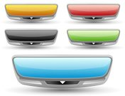 Internet,template,Push Button,Banner,Chrome,Three-dimensional Shape,Futuristic,Metallic,Glass - Material,Design Element,Downloading,Black Color,Shiny,Sign,Red,Blank,Smooth,Curve,Gray,Empty,Computer Graphic,Orange Color,Green Color,Vibrant Color,upload,Isolated On White,Elegance,Message,Group of Objects,Illustrations And Vector Art,Blue,Vector,Set,Reflection,Single Object,editable,Moving Down,No People,Arrow Symbol