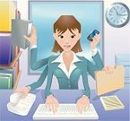Multi-Tasking,Women,Emotional Stress,Businesswoman,Office Interior,Business,Desk,Busy,Working,Shiva,Cartoon,Paperwork,Efficiency,Physical Pressure,One Person,Computer,Filing Cabinet,Occupation,Telephone,Human Arm,Number 6,Business Person,Human Hand,Working Late,Typing,Ilustration,Vector,Filing Documents,Intelligence,Tasking,Sitting,White Collar Worker,Mobile Phone,Ring Binder,Characters,Coordination,People,Illustrations And Vector Art,Vector Cartoons,On The Phone,Ideas,File,Talking,Young Adult,Concepts,Well-dressed,Success