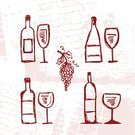 Wine,Dirty,Wine Bottle,Backgrounds,Bottle,Silhouette,Glass - Material,Wineglass,Glass,Food,Red,White Wine,Grape,Menu,Symbol,Sketch,Doodle,Retro Revival,Design Element,Champagne,Vector,Old-fashioned,List,Party - Social Event,Red Wine,White,Cartoon,Restaurant,Freshness,Image,Drink,Shape,Vector Backgrounds,Food And Drink,Ilustration,Single Object,Design,Alcohol,Alcohol,Illustrations And Vector Art,Collection,Set