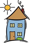 Home Interior,Preschool,Cartoon,Residential Structure,Education,Built Structure,Drawing - Art Product,Childhood,Elementary Age,Sun,Symbol,Door,Fun,Elementary Student,Building Exterior,Vector,Ilustration,Religious Icon,Window,Art,Single Object,Art Product,Design Element,Outdoors,Chimney,Smoke - Physical Structure,Day,Bush,Babies And Children,Architecture And Buildings,Lifestyle,Concepts And Ideas,handcarves