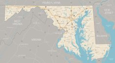 Maryland,Map,state,Road Map,Vector,Road,Highway,Maryland State,Highway Map