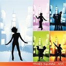 Times Square,Dancing,Silhouette,Party - Social Event,New York City,Music,Street,City,Vector,Dancer,Teenager,City Life,Women,Urban Scene,Square,Men,Sports Team,Backgrounds,Adolescence,Apartment,Couple,Nightclub,Design,Friendship,Cool,Youth Culture,Disco Dancing,Abstract,Funky,Female,Built Structure,Ilustration,Fun,Male,Outline,Back Lit,Building Exterior,Young Adult,Pair,Medium Group Of People,Color Image,Outdoors,Concepts,Skyscraper,Vibrant Color,Close-up,Front View,Bright,Teens,Lifestyle,handcarves,Illustrations And Vector Art