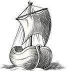 Sailing Ship,Shipping,Military Ship,Nautical Vessel,Passenger Ship,Brigantine,Sketch,Sailboat,Old-fashioned,Galleon,Retro Revival,Wave,Sailing,Wave Pattern,Flag,Sea,Painted Image,Vector Icons,Travel,Transportation,Freight Transportation,Ilustration,Travel Backgrounds,People Traveling,Transportation,Marines,Travel Locations,Illustrations And Vector Art,Floating On Water,Water